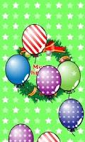 Screenshot of My baby Xmas (Balloon pop!)