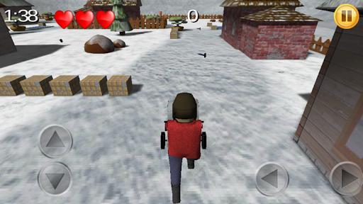 清雪机模拟器