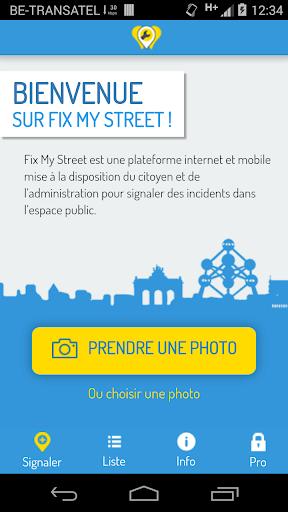 Fix My Street Bruxelles