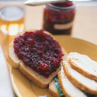 Spicy Cranberry Jam.