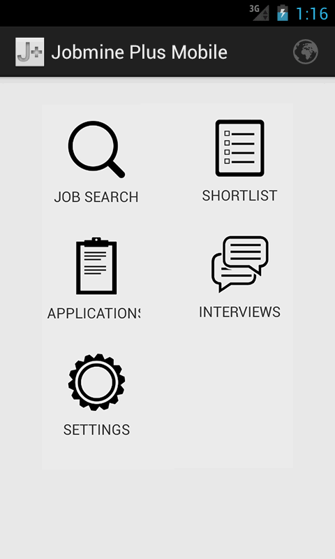 Jobmine Plus Mobile - screenshot
