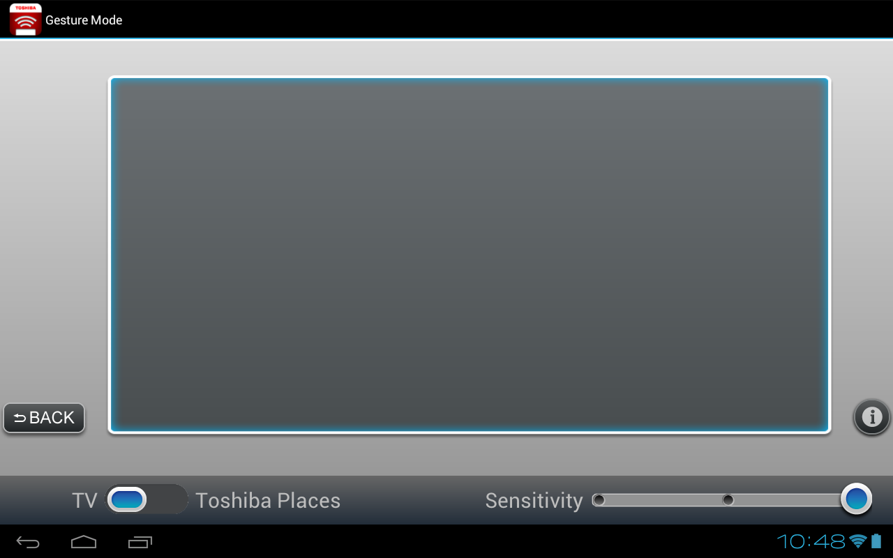 Toshiba Remote - screenshot