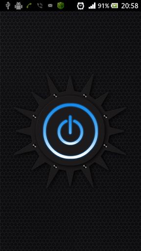 Фонарик Blue flashlight