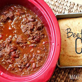 Beef Chuck Chili