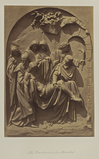 The Entombment. from a Bas-relief
