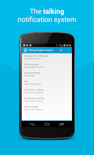 Talking Ringtone Maker Lite- screenshot thumbnail