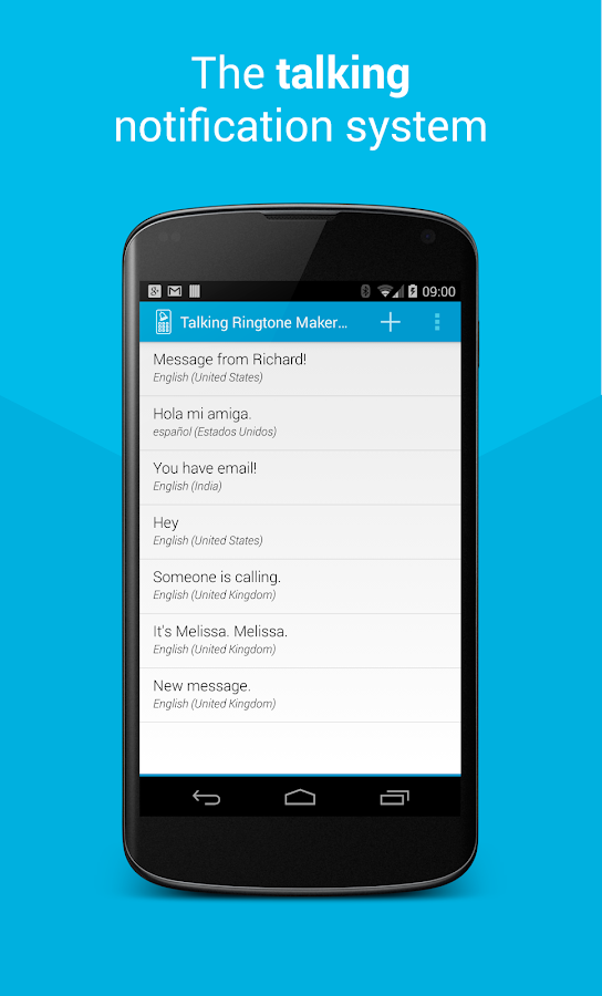 Talking Ringtone Maker Lite - screenshot
