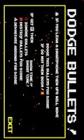 Screenshot of Dodge Bullets