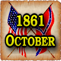 1861 Oct Am Civil War Gazette logo