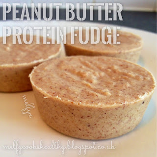 Peanut Butter Protein Fudge Recipe