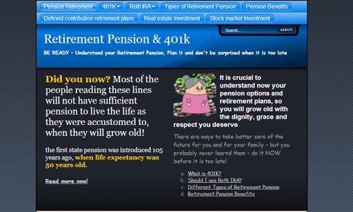 Retirement plans 401k IRA roth