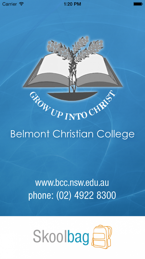 Belmont Christian College- screenshot