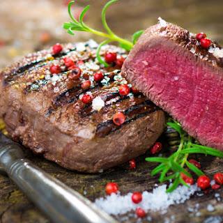 Pink Peppercorn Crusted Beef Tenderloin Fillets