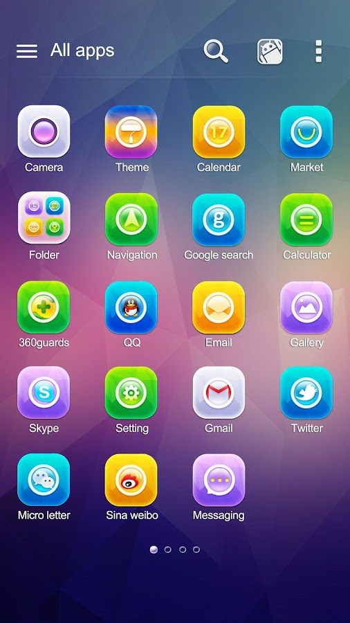 Shine GO Launcher Theme- screenshot
