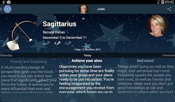 Screenshot of My Horoscope