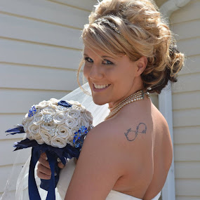 Beautiful Bride by Annette Long-Soller - Wedding Bride ( my daughter, wedding, getting ready, bride, people )