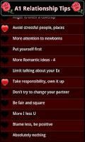 Screenshot of A1 Relationship Tips