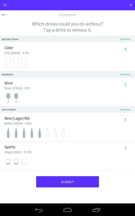 Drinks Meter - screenshot