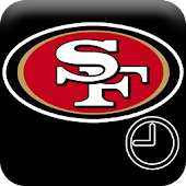 San Francisco 49ers Fan Clock