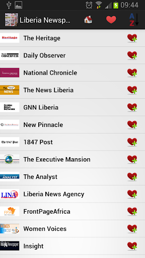 利比里亚报纸和新闻