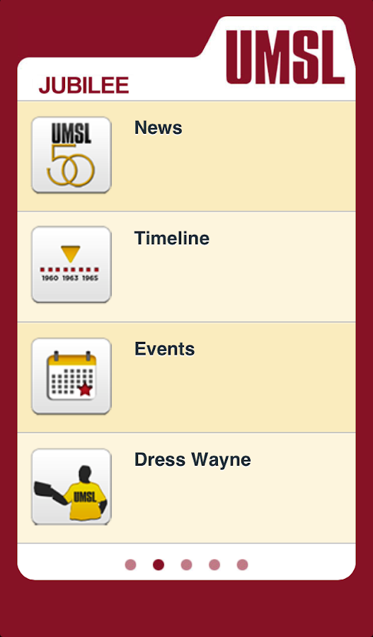 UMSL Mobile 2.0 - screenshot