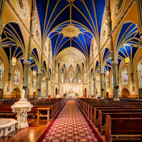 St. Alphonsus Church by John Williams - Buildings & Architecture Places of Worship ( church, archetecture, interiors, catholic parish, architecture, chicago, interior archetecture, places of worship )