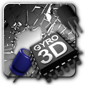 Cracked Screen Gyro 3D Parallax Wallpaper HD