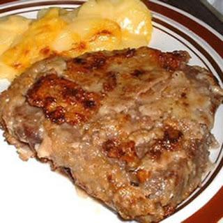 Simple Vinegar Steak.
