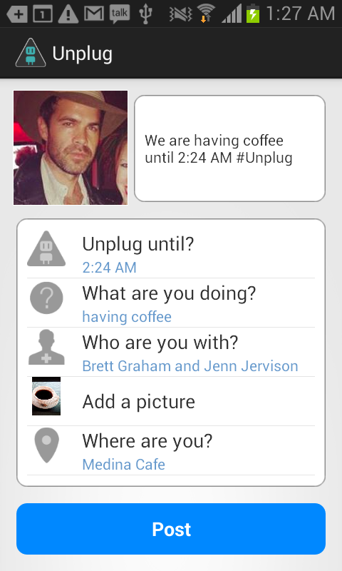 Unplug: Check In to Check Out- screenshot