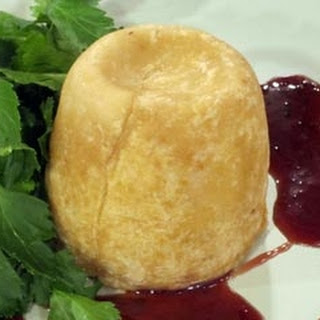 Pork and veal suet pudding with Oxford sauce