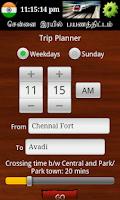 Screenshot of Chennai MRTS