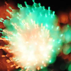 by Gav Wyatt - Abstract Fire & Fireworks