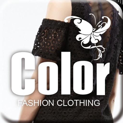 購物必備App|COLOR 彩色流行平價服飾 LOGO-綠色工廠好玩App