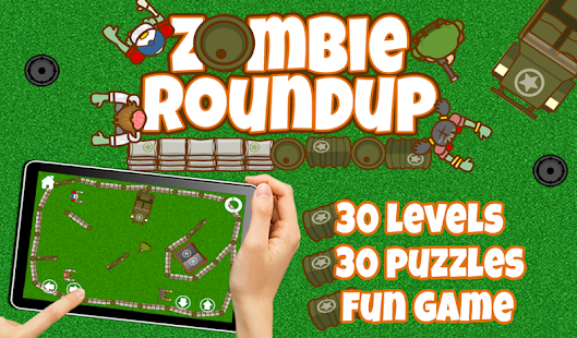 FREE Zombie Roundup Game- screenshot thumbnail