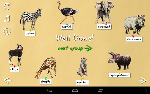 【免費教育App】Animal Name Game-APP點子