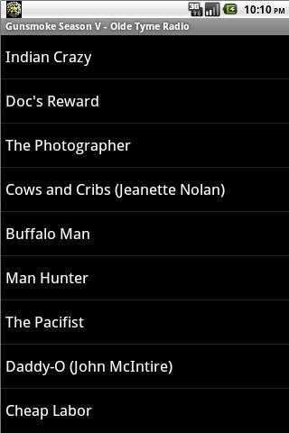 音樂必備APP下載 Gunsmoke OTR Season V 好玩app不花錢 綠色工廠好玩App