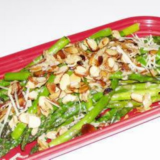 Asparagus with Almonds and Parmesan Recipe