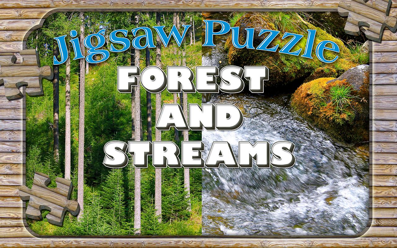 Forest Jigsaw Puzzles Game- screenshot