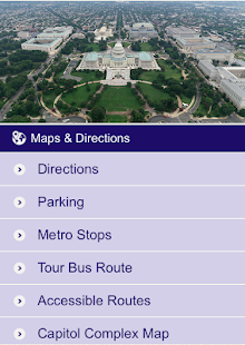 U.S. Capitol Visitor Guide- screenshot thumbnail