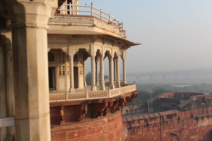 Balcony. by Prasaddatta Gadgil - Buildings & Architecture Architectural Detail ( history, building, art, architecture, landscape )