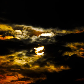 Magical sunset by Saurabh Gaikwad - Abstract Patterns ( colorful, sunset )