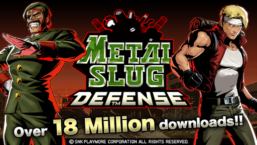 لعبة METAL SLUG DEFENSE v1.15.1 (Unlimited MSP/Medals/BP) لجوالات الاندرويد