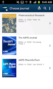 AAPS Journals - screenshot thumbnail