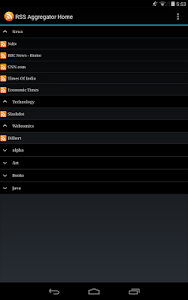 Rss Aggregator screenshot 8