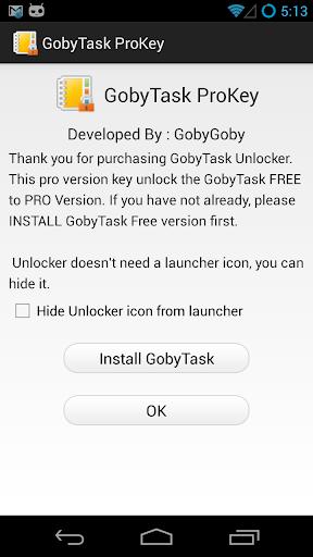 GobyTask 待辦事項 解鎖碼
