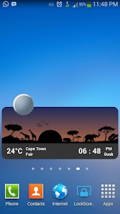 Metro Clock & Weather Full - screenshot thumbnail
