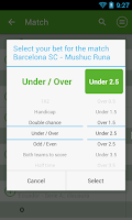 Screenshot of BetStatus