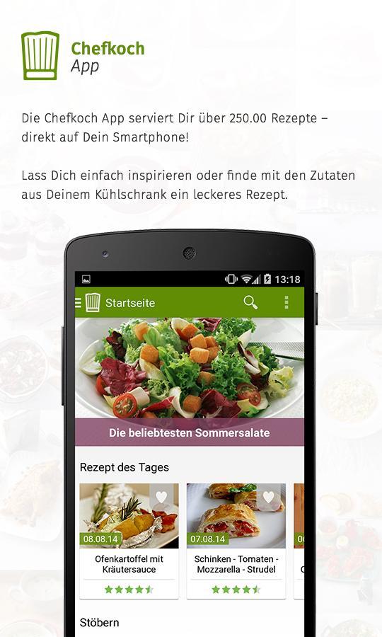 Chefkoch - Rezepte & Kochen - screenshot