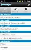 Screenshot of Festas UFSC