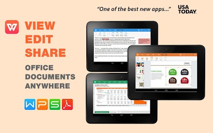 WPS: #1 FREE Mobile Office App Screenshot 1